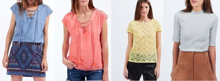 Etam Sale mit bis zu 70% Rabatt bei Vente Privee   z.B. Shirts ab 10,5€ oder Kleider ab 18,50€