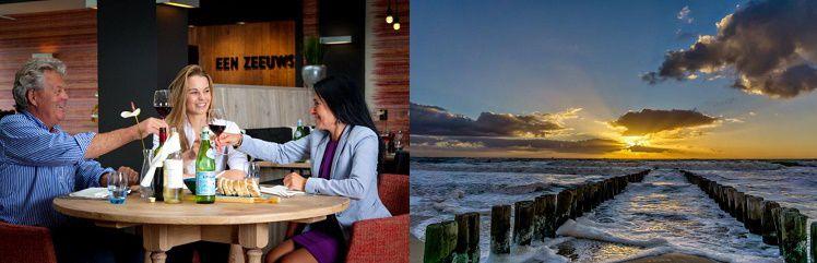 2 ÜN im 3,5* Strandhotel in Zeeland inkl. Frühstück, 3 Gänge Dinner, Fitness & Sauna ab 89€ p.P.