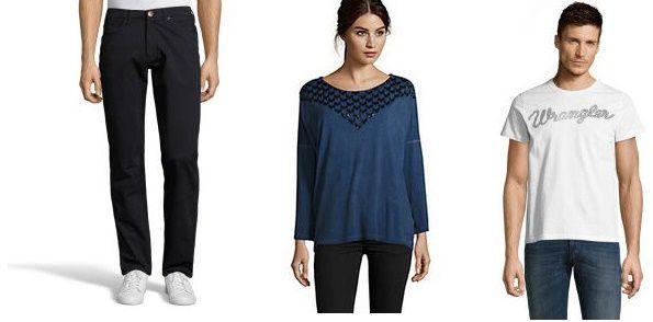 Wrangler Sale mit bis zu 70% Rabatt bei Vente Privee   z.B. Shirts ab 14,90€ oder Jeans ab 29,90€