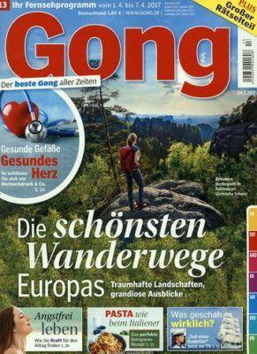 Jahresabo Gong effektiv nur 3,20€ (statt 109€)