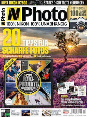 3 Ausgaben N Photo für 19,95€ inkl. 10€ Amazon Gutschein