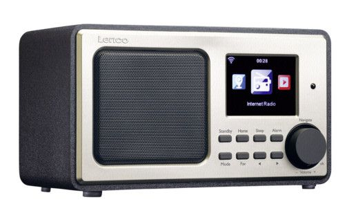 Lenco DIR 100   Internetradio mit Wecker, TFT Bildschirm, Wettervorhersage uvm) für 67,09€ (statt 89€)