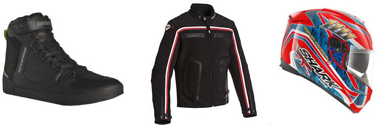 33 Bering & Shark Motorradbekleidung mit bis zu 65% Rabatt   z.B. Shark Speed R 2 Foggy für 193,50€ (statt 249€)