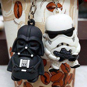 Schlüsselanhänger Stormtrooper oder Darth Vader für 0,18€