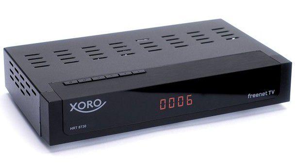 Xoro HRT 8730   Receiver mit DVB T2 HD für 44€ (statt 59€)