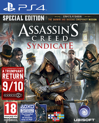 Ausverkauft! Assassin Creed: Syndicate (PS4)   Special Edition ab 12,99€