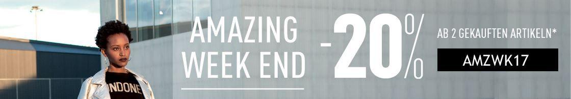 Pimkie Weekendsale: 20% Rabatt auf Alles   ab 2 Artikeln