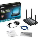 ASUS RT-AC1200G+ Wireless AC Dual Band WLAN Router für 59,90€