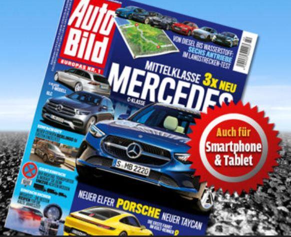 3 Monate AutoBild mit 13 Ausgaben für 29,90€ + 30€ Amazon Gutschein