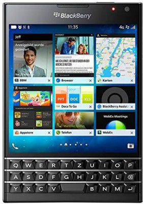 BLACKBERRY Passport Black Edition 32 GB für 119,99€ (statt 160€)