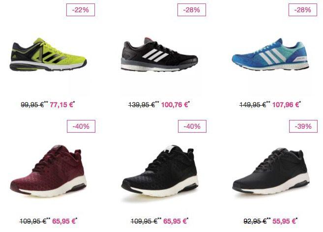Vaola Super Sale + weitere 20%   z.B. adidas Swift Racer für 36,76€ (statt 56€)