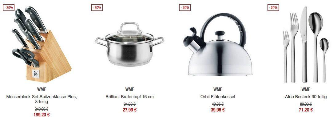 WMF Sale Bei Galeria Kaufhof   Günstige Kleinelektrogeräte Und Töpfe,  Pfannen U0026 Co.