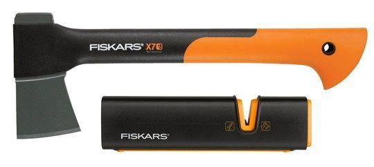 Fiskars X7 Universalaxt + Xsharp Schärfer für 33,90€ (statt 40€)