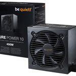 be quiet! Pure Power 10 400W Netzteil 80+ Silber für 46,37€ (statt 56€)