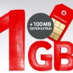 Gratis Vodafone CallYa Prepaidkarte anfordern + ggf. 10GB Datenvolumen gratis