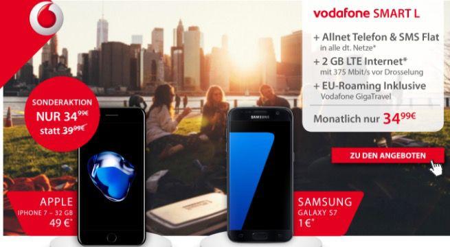 Bildschirmfoto 2017 03 06 um 10.37.14 iPhone 7 32GB  + Vodafone Smart L mit 2GB LTE für 34,99€ mtl.   Top!