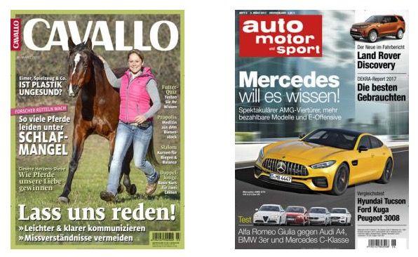 Große Zeitschriften Abo Frühlingskampagne – Jahresabos ab 5€   TIPP!