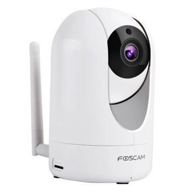 Foscam R4   dreh  und schwenkbare Indoor WQHD Überwachungskamera für 154,98€ (statt 200€)