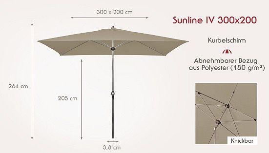TOP! doppler Sonnenschirme ab 94,90€   z.B. Sunline IV 280cm Auto Tilt für 94,90€ (statt 121€)