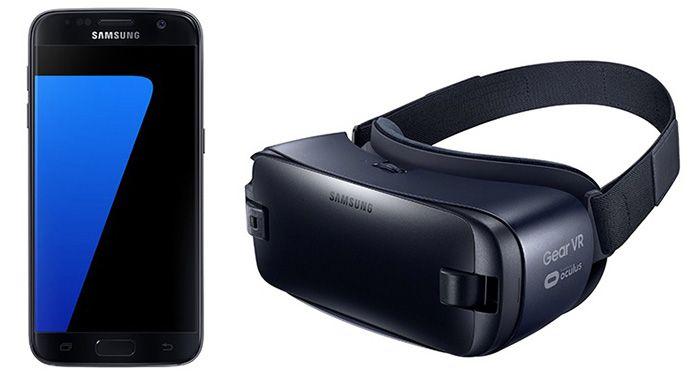 Samsung Galaxy S7 + Samsung Gear VR nur 1€ + Vodafone Allnet Flat mit 1GB für 19,99€ mtl.