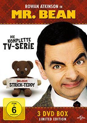 Mr. Bean   Die komplette TV Serie auf DVD + Strick Teddy für 9,97€ (statt 19€)