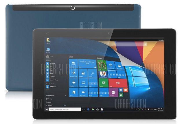 Cube iWork 10   10 Zoll Full HD Tablet mit 64GB + Win 10 für 132,35€
