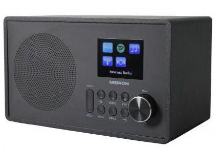 Medion MD87528 WLAN Internet Radio mit Spotify Funktion für 72€ (statt 104€)