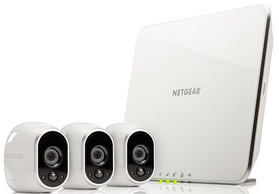 Netgear Arlo VMS3330 Sicherheitssystem mit 3 Kameras für 349€ (statt 399€)