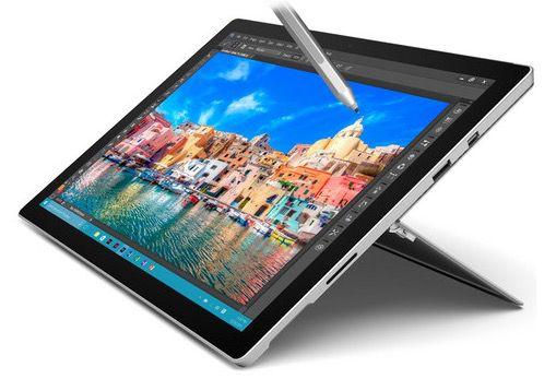 Microsoft Surface Pro 4 Tablet mit i5 + 128GB SSD für 777€ (statt 834€)