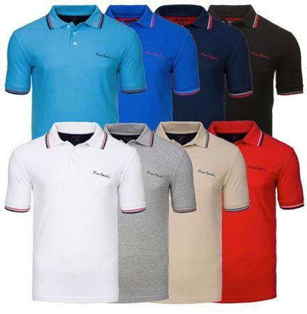 Pierre Cardin Tipped Herren Poloshirts für je 5,99€ (statt 16€)   Restgrößen!
