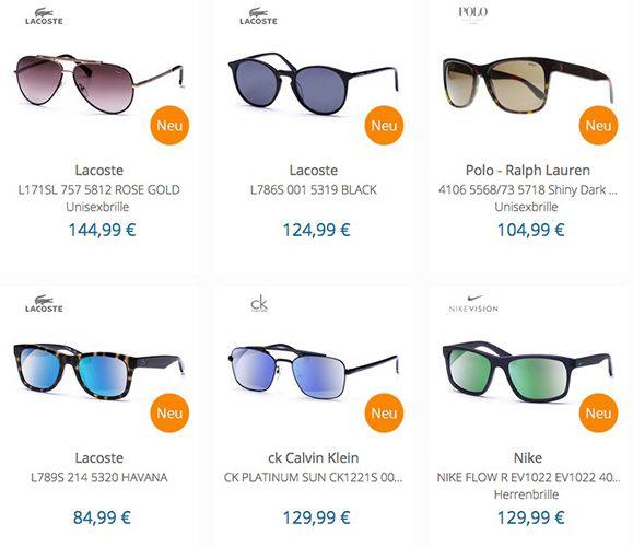15% beim netzoptiker   z.B. Lacoste Elegant L789S Sonnenbrille für 72€ (statt 79€)