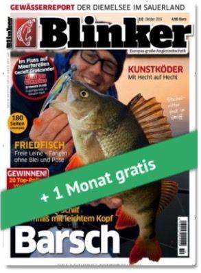 TOP! 4 Ausgaben vom Blinker für 17,10€ + 17,10€ Verrechnungsscheck