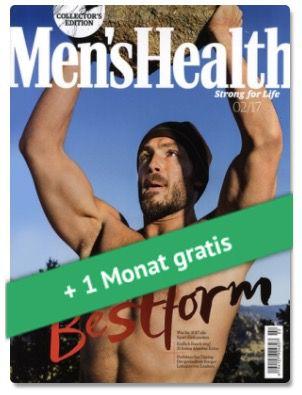 3 Ausgaben Mens Health für 15,30€ inkl. 15€ Amazon Gutschein