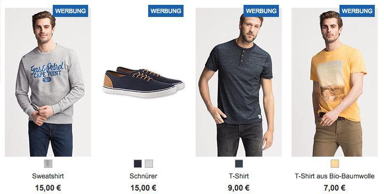 C&A Frühjahrs Shopping mit 20% Rabatt auf ALLES (auch Sale)   T Shirts ab 7€ bis Mitternacht!