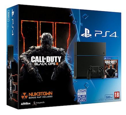 Playstation 4 (CUH 1216A) + Call of Duty: Black Ops 3 für 175,40€   Zustand Sehr gut