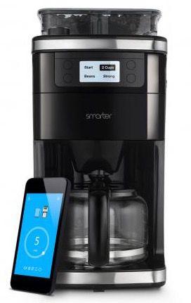 Smarter Kaffeemaschine mit Mahlwerk & WiFi für 59€ (statt 76€)