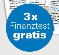 3 Ausgaben Finanztest komplett gratis + Chance ein iPad Pro zu gewinnen