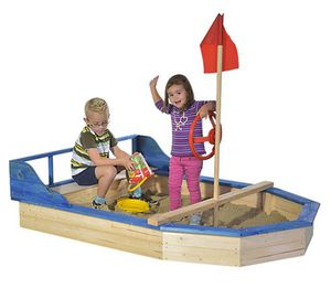 Gaspo Sandkasten Piratenboot für 137,94€ (statt 183€)