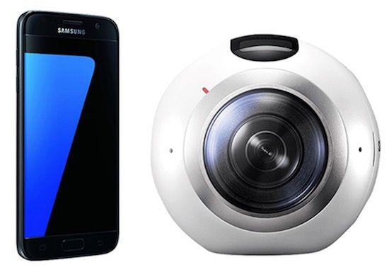 Samsung Galaxy S7 + Gear 360 für 1€ (statt 560€) + Vodafone Tarif für 19,99€ mtl.