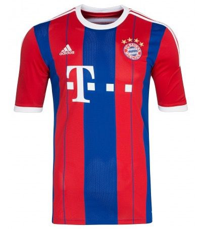 adidas Performance FC Bayern Home 2014/2015 Jersey Trikot für 14,99€ (statt 20€)   nur Größe L!