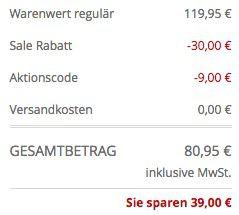 Bildschirmfoto 2017 03 14 um 12.11.31 Peek & Cloppenburg* Frühjahrs Sale mit bis zu 81% Rabatt + VSK frei + 10% Gutschein