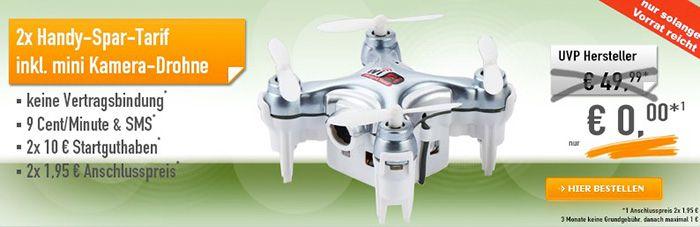 Knaller! Cheerson CX 10WD Mini Drohne für nur 3,90€ (statt 39€) dank 2 Schubladenverträge