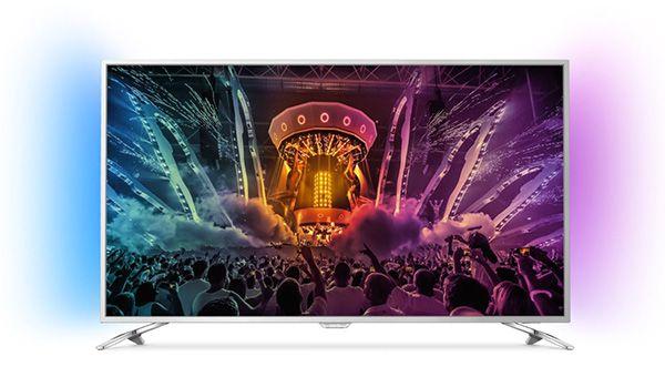 Philips 49PUS6501   49 Zoll UHD Fernseher mit 2 seitigem Ambilight für 599€ (statt 708€)