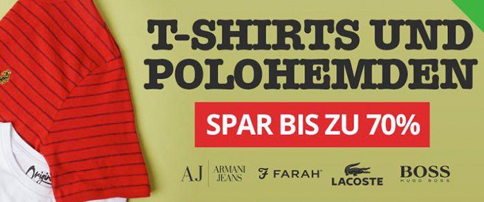T Shirts und Polohemden Sale bei MandmDirect   z.B. Lacoste L1212 Polo für 68,95€ (statt 80€)