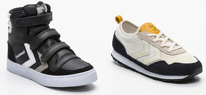 Hummel Kids Sale bei vente privee   z.B. Sneakers mit hohem Schaft für 35,50€ (statt 49€)