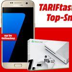 "Vodafone Allnet-Flat mit 1GB + Galaxy S7 + Xbox One S (500GB) für 26,70€ mtl. – effektiv 53€ ""Gewinn"""