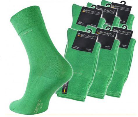 12er Pack camano Strümpfe Grün für 7,99€ (statt 25€)