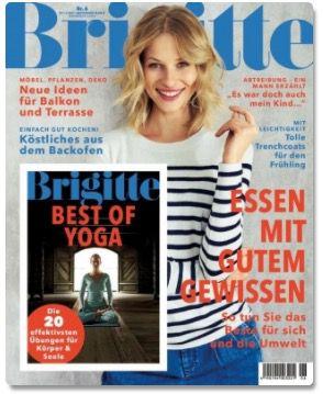 Brigitte Jahresabo inkl. 90€ Gutschein für 91€