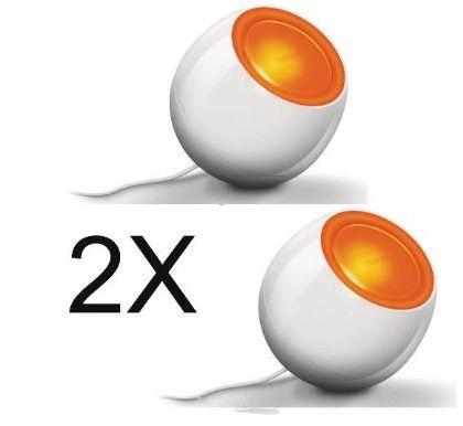 2er Pack Philips Livingcolors Mini LED Leuchten für 49,95€ (statt 63€)