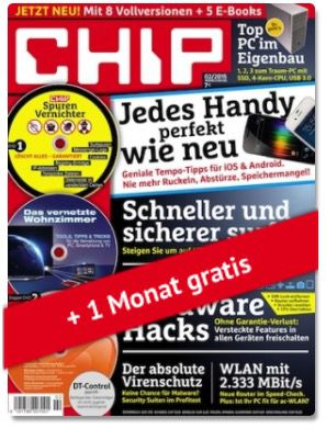 Chip Premium Jahresabo für 19,95€ (statt 89€)